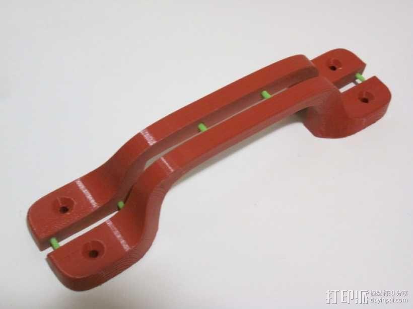 重型门手柄  3D模型  图4