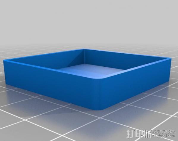 NEO-6M GPS模块外壳 3D模型  图2
