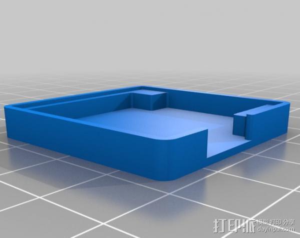 NEO-6M GPS模块外壳 3D模型  图3