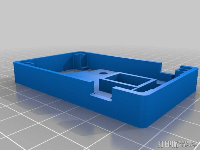 HKpilot飞行控制器外壳 3D模型  图4