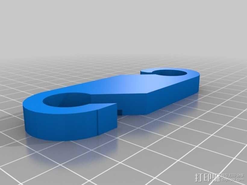 汽车座椅 垃圾袋 3D模型  图2