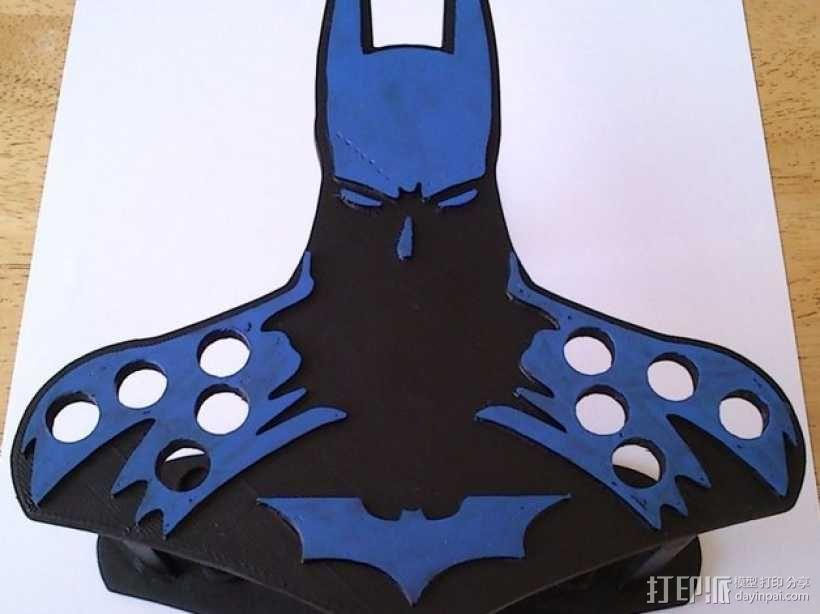 蝙蝠侠油漆刷握柄 3D模型  图1