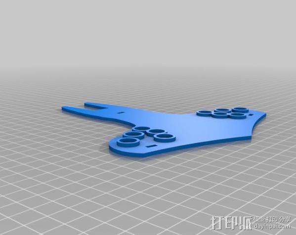 蝙蝠侠油漆刷握柄 3D模型  图3