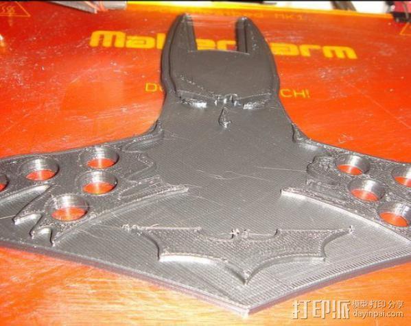 蝙蝠侠油漆刷握柄 3D模型  图11