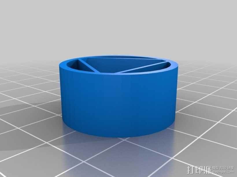 电池配适器 3D模型  图3