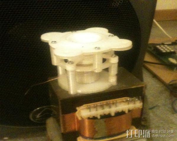 迷你扬声器 3D模型  图2