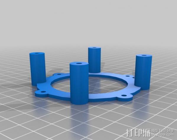 迷你扬声器 3D模型  图9