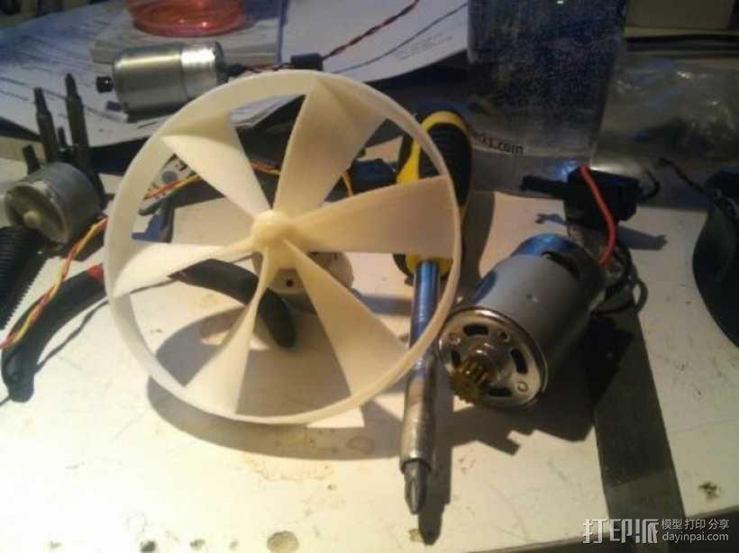 参数化螺旋桨  3D模型  图1