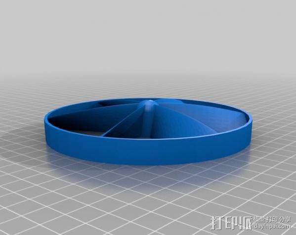 参数化螺旋桨  3D模型  图2
