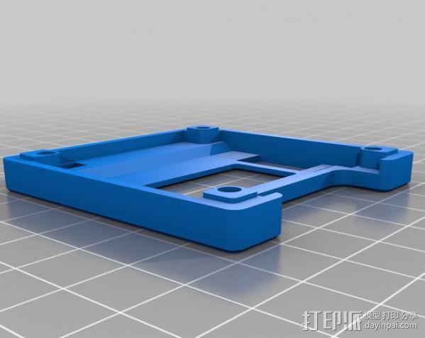 KK2飞行控制器外壳 3D模型  图2