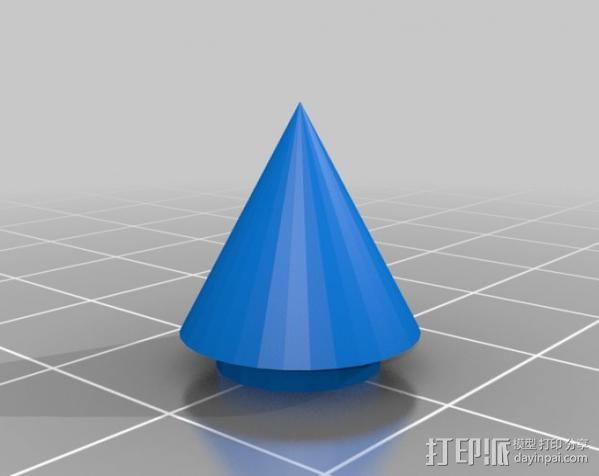 三色LED手镯 3D模型  图4