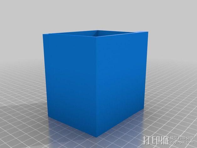 Arduino Uno电路板 小盒 3D模型  图2