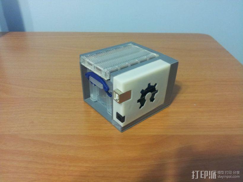 Arduino Uno电路板 小盒 3D模型  图1