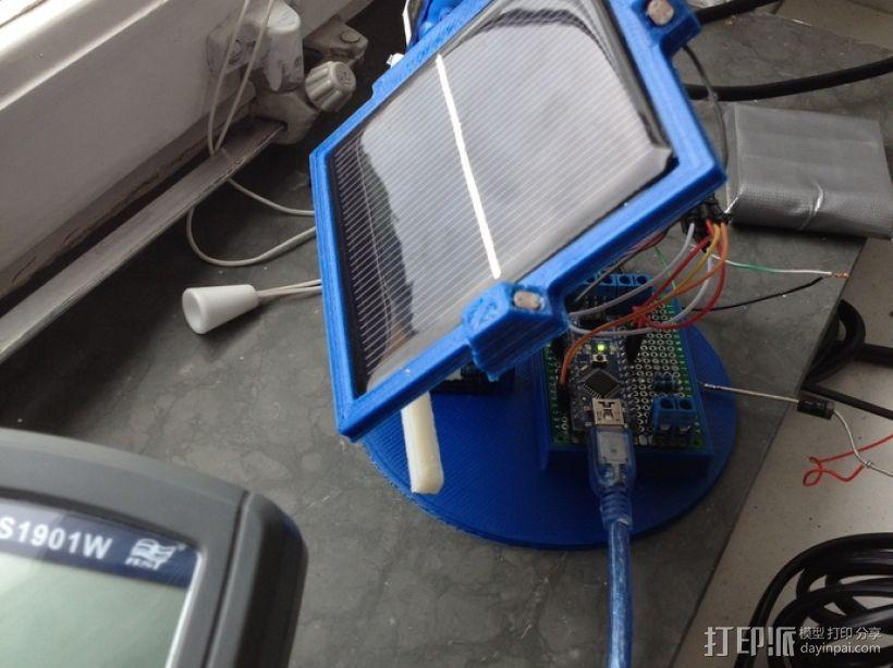 太阳能电池板 3D模型  图1
