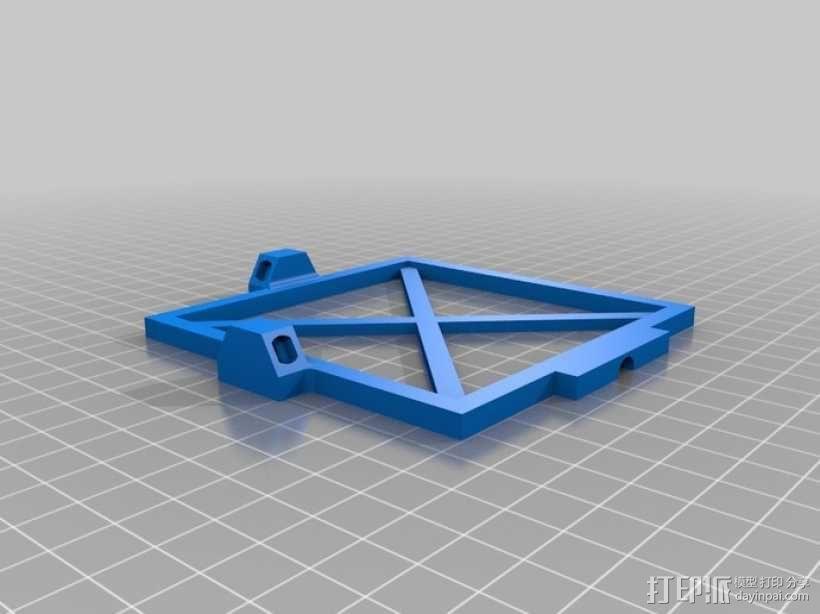 太阳能电池板 3D模型  图2