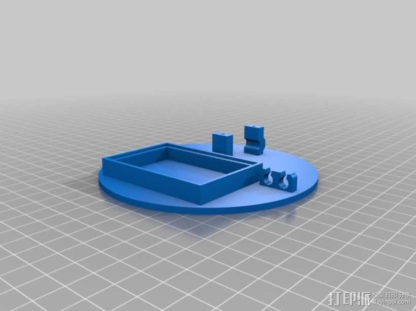 太阳能电池板 3D模型  图4