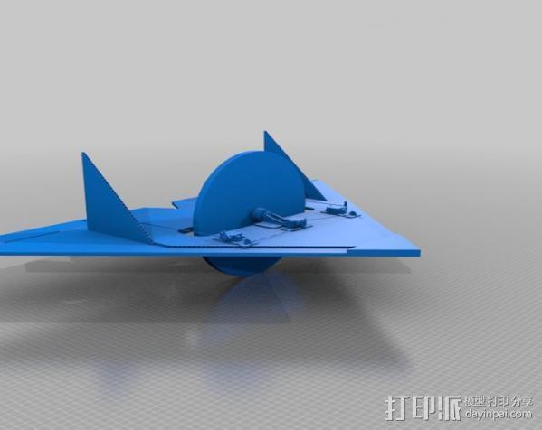 遥控飞机零部件 3D模型  图4