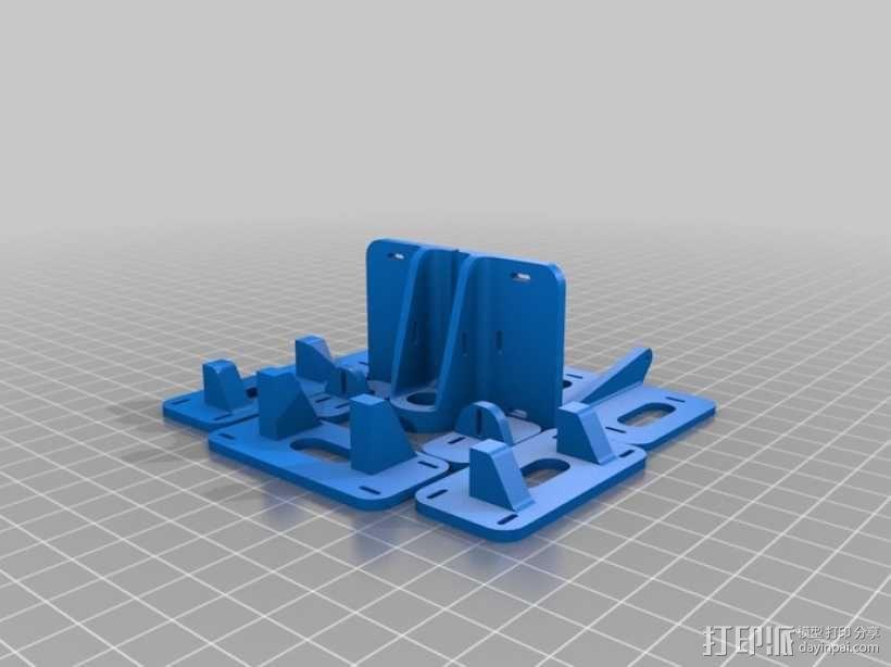 遥控飞机零部件 3D模型  图5