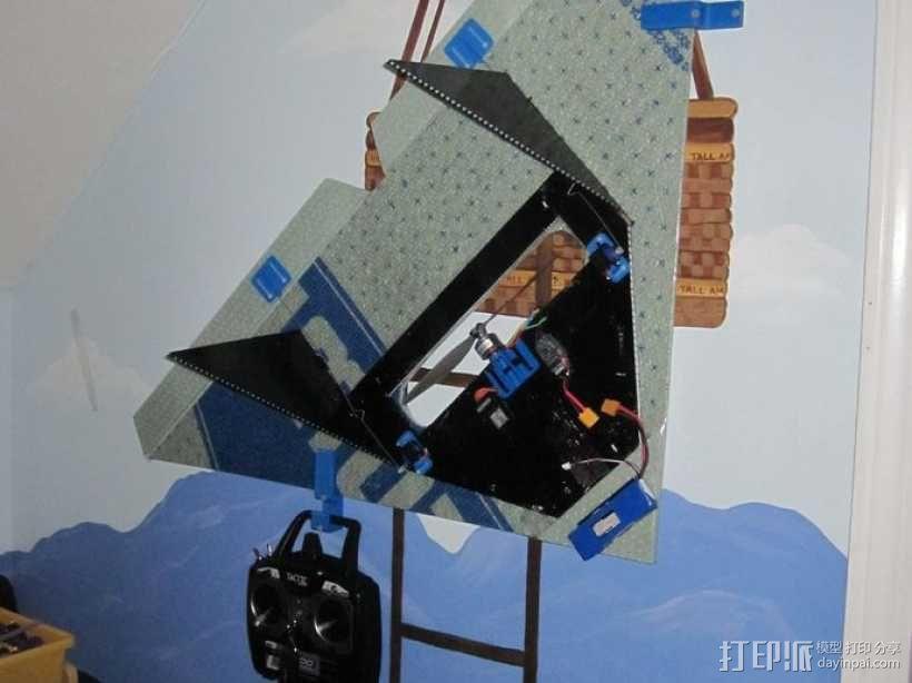 遥控飞机零部件 3D模型  图7