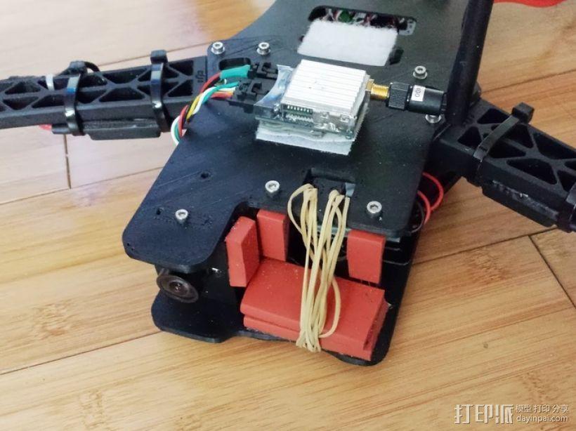 四轴飞行器延长板 3D模型  图9