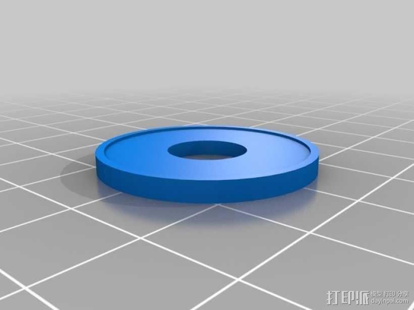 迷你马达泵 3D模型  图4