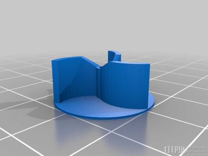 迷你马达泵 3D模型  图3