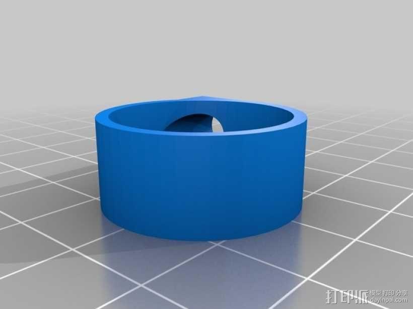 迷你马达泵 3D模型  图2