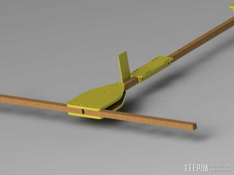FPV多轴飞行器 3D模型  图1