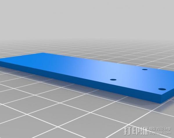 FPV多轴飞行器 3D模型  图3