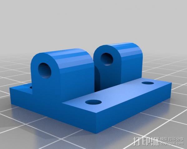 FPV多轴飞行器 3D模型  图2