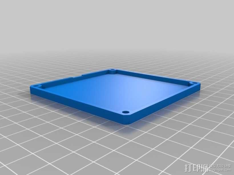 定制化键盘 排字机 3D模型  图3