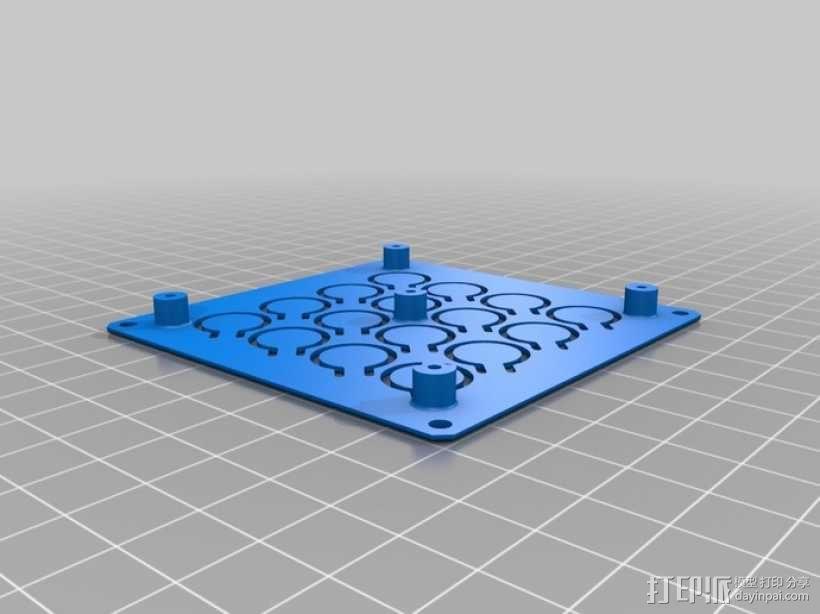 定制化键盘 排字机 3D模型  图7
