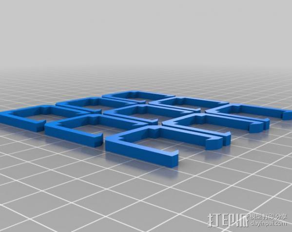四轴飞行器 3D模型  图7