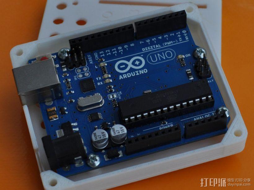 Arduino Uno R3电路板外壳 3D模型  图1