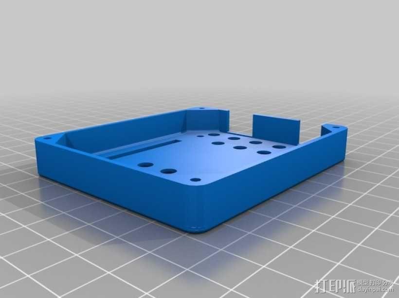 Arduino Uno R3电路板外壳 3D模型  图3