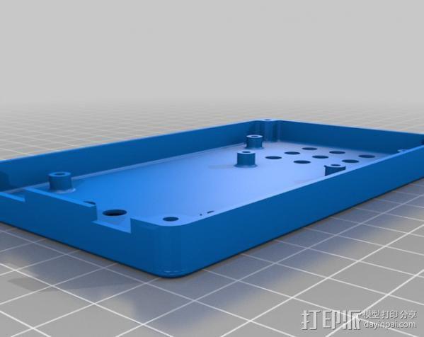 Arduino Mega电路板外壳 3D模型  图3