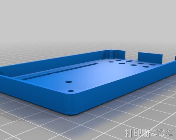 Arduino Mega电路板外壳 3D模型  图4