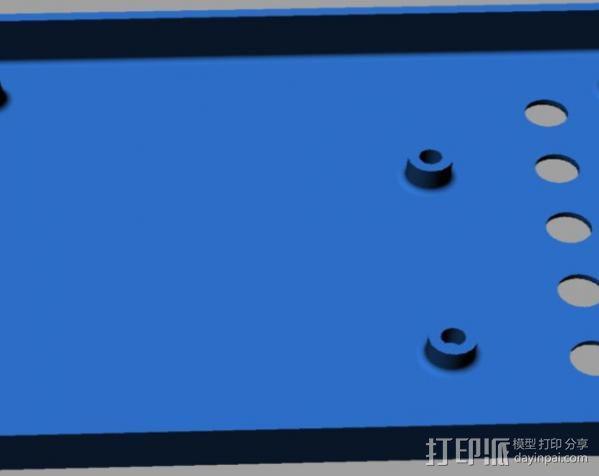 Arduino Mega电路板外壳 3D模型  图6