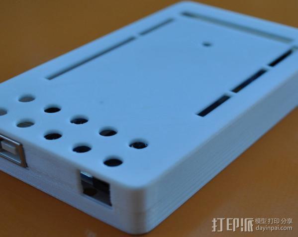 Arduino Mega电路板外壳 3D模型  图7