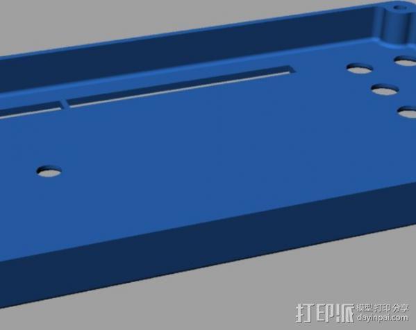 Arduino Mega电路板外壳 3D模型  图5