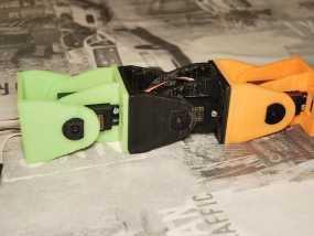 模块化机器人机械零部件 3D模型