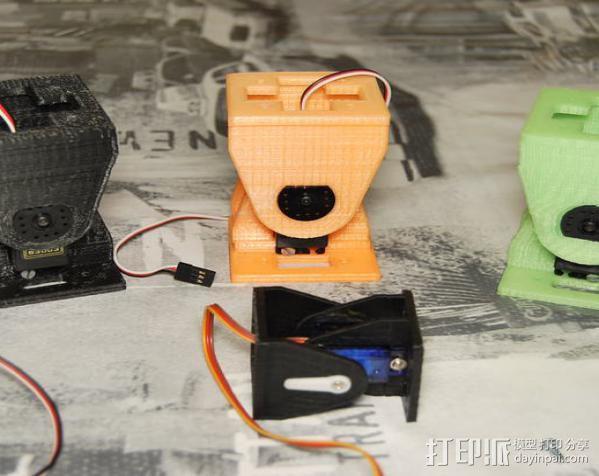 模块化机器人机械零部件 3D模型  图3