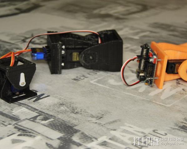 模块化机器人机械零部件 3D模型  图5