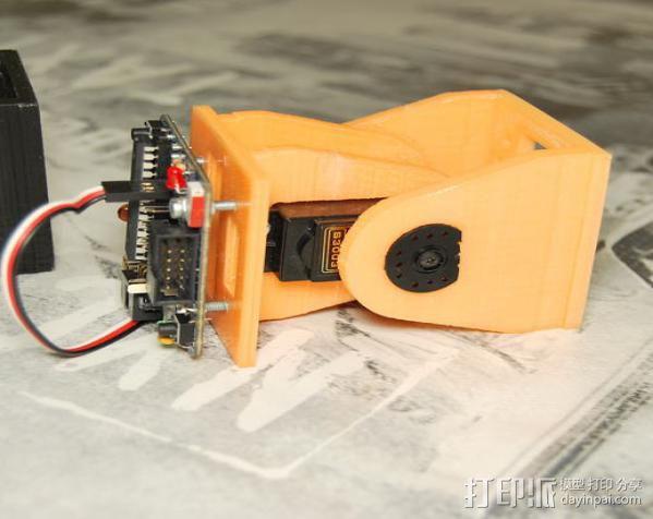 模块化机器人机械零部件 3D模型  图6