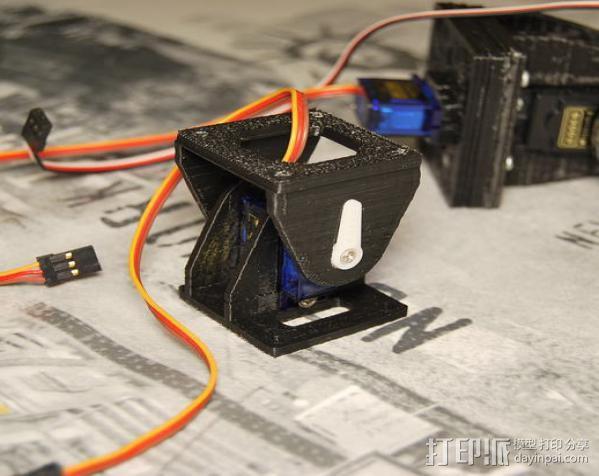 模块化机器人机械零部件 3D模型  图7