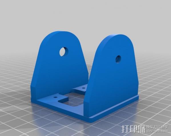 模块化机器人机械零部件 3D模型  图9