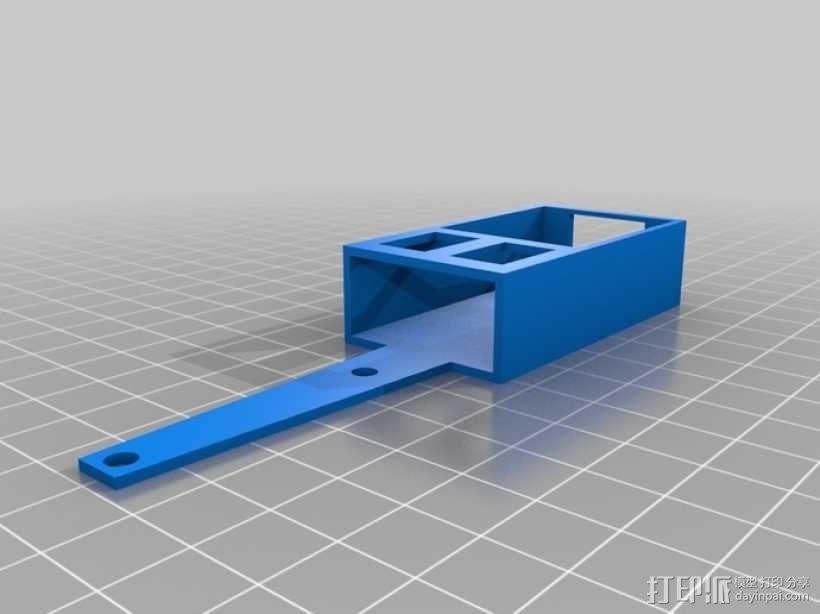 FatShark视频发射机外壳 3D模型  图2