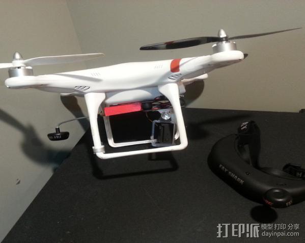 FatShark视频发射机外壳 3D模型  图6