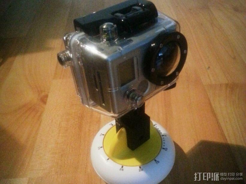 GoPro定时器支架 3D模型  图1