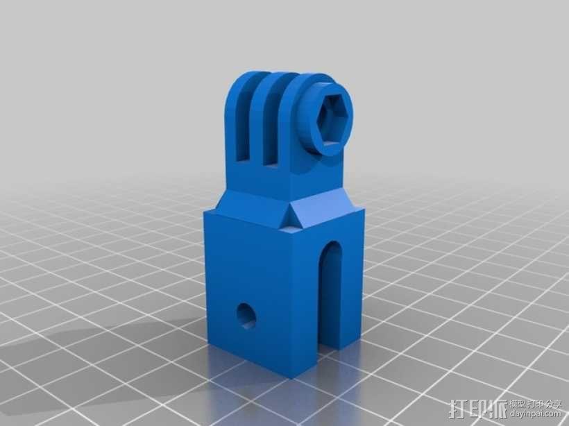 GoPro定时器支架 3D模型  图2